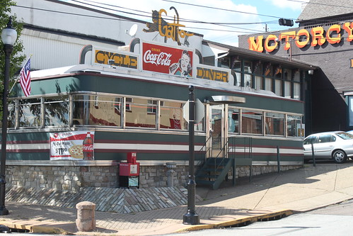 Gatto Cycle Diner, Tarentum, PA