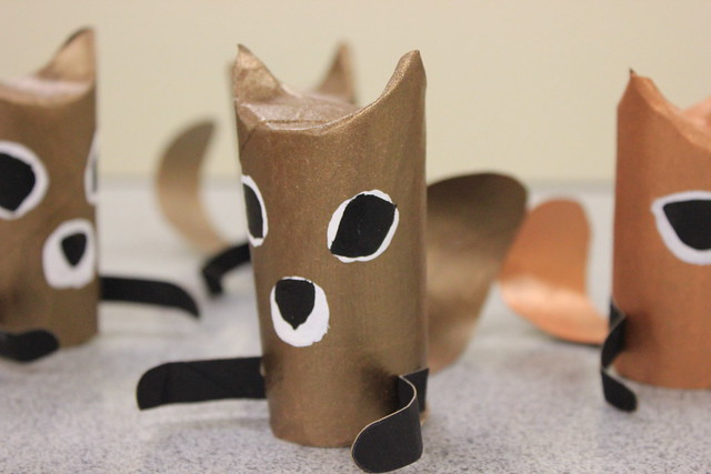 Paper Tube Squirrels 1