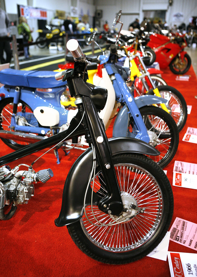 Toronto Motorcycle Show, January 2013
