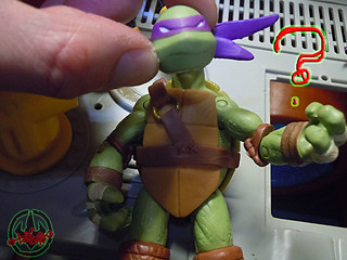 "Nickelodeon ""MUTAGEN OOZE"" TEENAGE MUTANT NINJA TURTLES :: OOZE SCOOPIN' DONNIE - F // ..head swap with original Nick Donatello  (( 2013 ))"