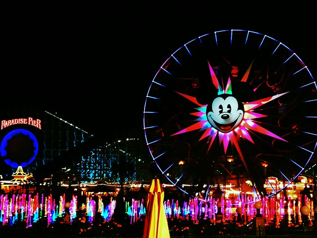 World of Color, California Adventure during runDisney's Tinker Bell Half Marathon