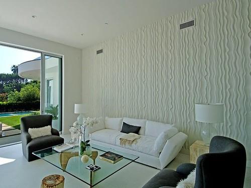 Tapices texturizados moda para tus paredes - Papel para paredes con humedad ...