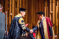Professor Zhores Alferov Being Awarded an Honorary Degree by City University London