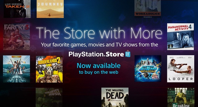 PlayStation Store on the web