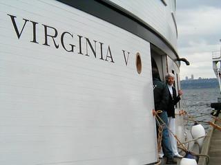 Back Aboard the Virirginia V