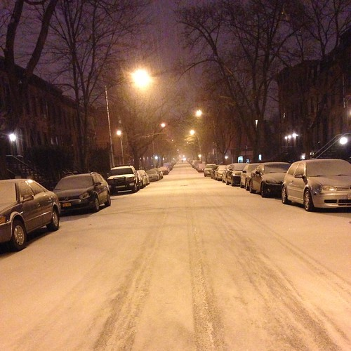 Clinton Hill, Snow, Finally