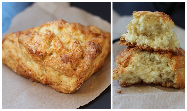 Sandbox Bakery San Francisco - Ginger Scone