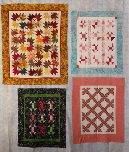 4 little quilts