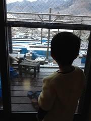 朝起きたら雪 2013/1/28