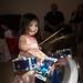Alexandra Gets a Drumset