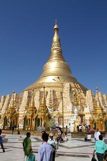 Image of  Shwedagon Pagoda  near  Shwedagon Pagoda. travel yangon burma stupa myanmar shwedagonpagoda shwedagonpaya