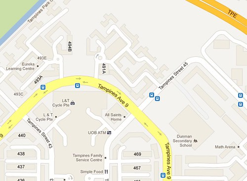 tampines street 45 - Google Maps