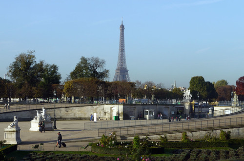 Eiffel Tower from the Tuileries