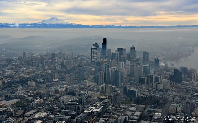 Mt. Rainier Seattle Washington