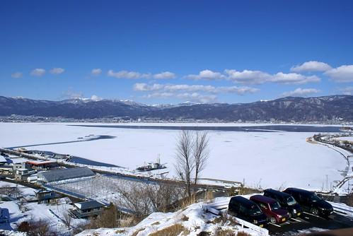 諏訪湖御神渡りの旅