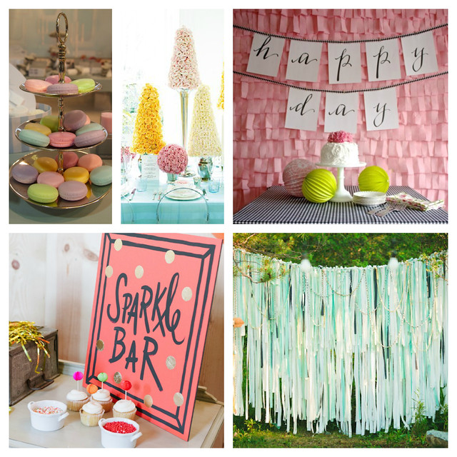 Party Inspiration Board Krystal's Kitsch