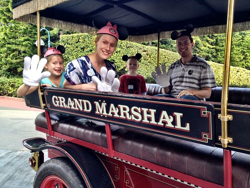 Grand Marshall's for the day
