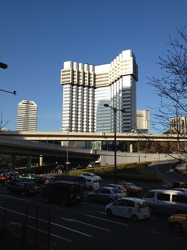 すっかり低くなった赤坂プリンスホテル by haruhiko_iyota