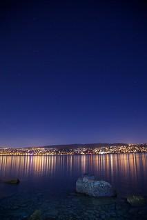 Nightshot Zürichsee