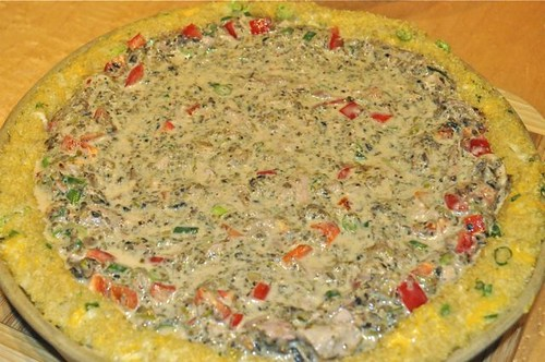 quinoa-crusted quiche 16