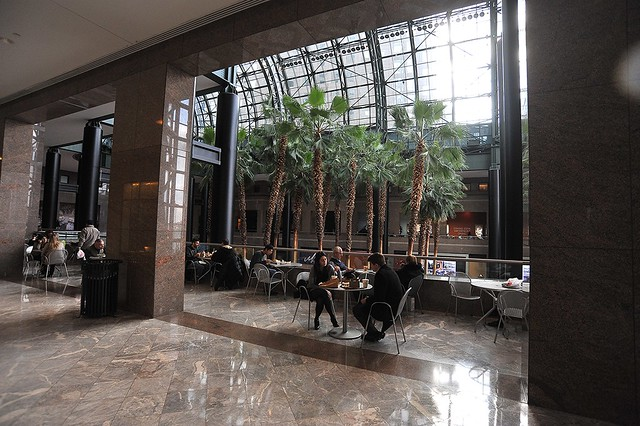 Winter Garden Public Indoor Space in World Financial Center NYC