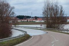 La Moselle - D55 inondée