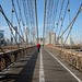 Walkway on the Brooklyn Bridge