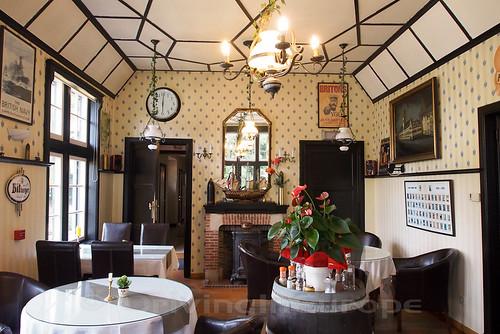 Hotel Kasteelhof 'T Hooghe ダイニングルーム