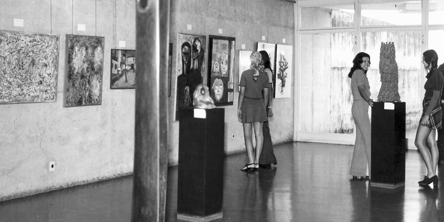 Exposição de Inauguração do MAG em 1970