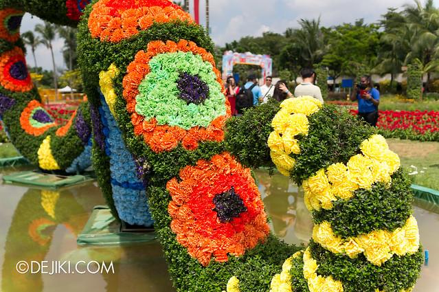 Sentosa Flowers 2013 - Rainbow Snake 2
