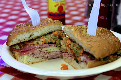 Muffaletta at Johnny's Po-Boys (New Orleans)