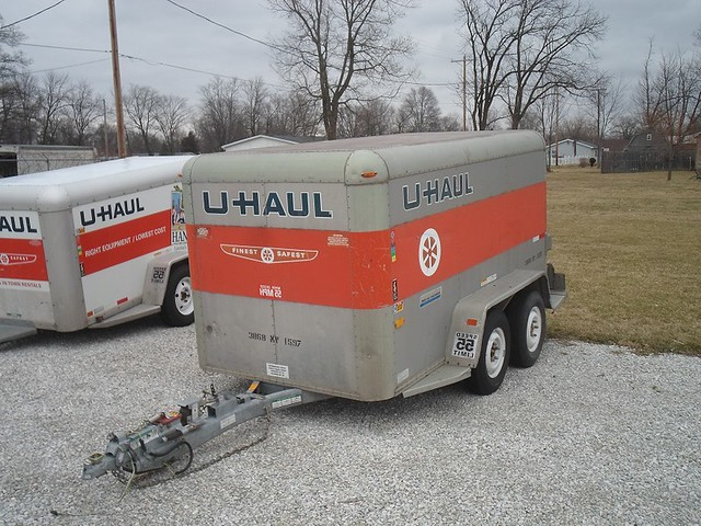 how to pack a u-haul cargo van when moving