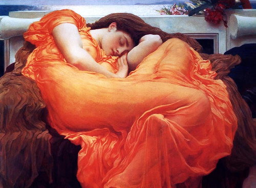 Flaming June, by Frederick Lloyd Leighton