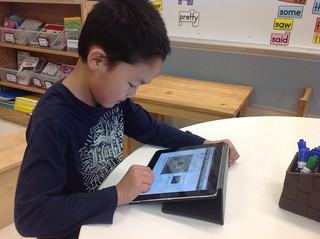 Blogging in a Primary Classroom–With Only One iPad!