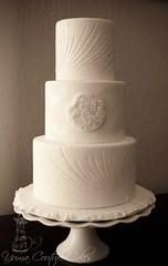 Yuma Arizona wedding cake
