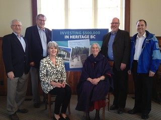 $500,000 to support heritage, vibrant communities