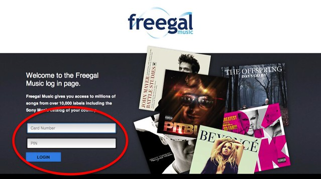 Download Freegal Music on your Computer