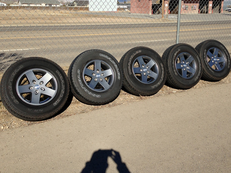 "Idaho 2013 - 17"" Wheels & Tires (Freedom Edition - grey ..."