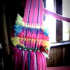 都蘭長青文物館一隅,部落老人在此收集文物並傳承技藝