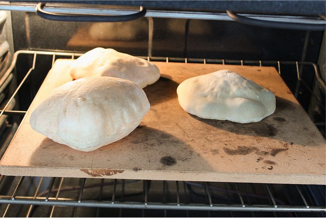 sourdough pita