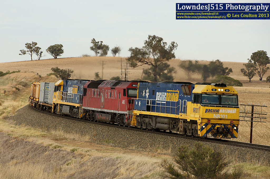 NR101, AN3 & NR64 near Junee by LowndesJ515