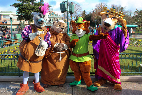Meeting the Sherwood Forest gang!