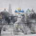 Saint Sergius Monastery by Nadia Alenov Bearon
