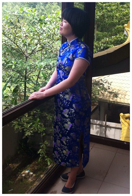 My Chinese New Year cheongsam