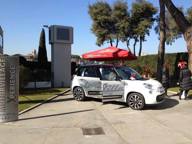Fiat 500l E Motor Village Roma In Visita A Birra Peroni