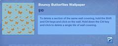 Bouncy Butterflies Wallpaper