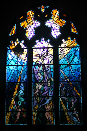 The Pilgrimage Window, St James the Great, Staple, Kent