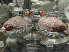 quails on spaghetti (multicoloured)
