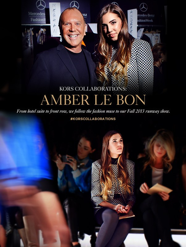 Michael Kors KORS COLLABORATIONS Amber Le Bon