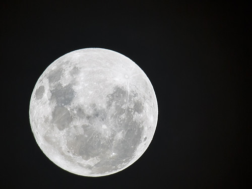 [Free Images] Nature, Night Sky, Moon ID:201303041600